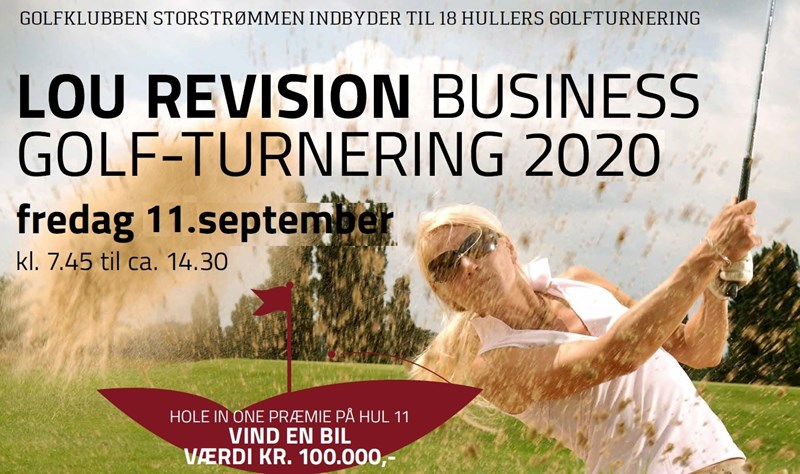LOU BUSINESS GOLF TURNERING